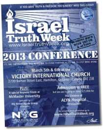 2012 Israel Truth Week Conference, London, ON, March 21/12