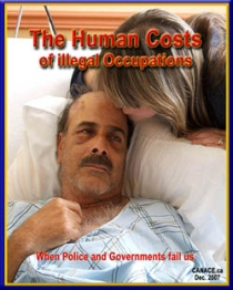 Co-author of 'The Human Costs of Illegal Occupations'