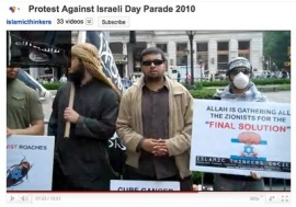 Islamic Thinkers Society at 2010 Israeli Day Parade, New York