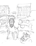 Lars Vilks- 'Muhammed in Traffic Circle'