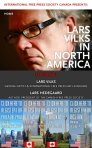 Lars Vilks in North America