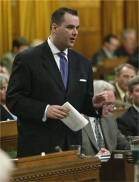 Minister of Canadian Heritage & Official Languages James Moore