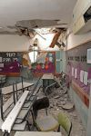 081231 Beersheva kindergarten class after rocket attack by Hamas