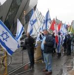 Mark Vandermaas at Israeli consulate, May 15/11