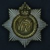RCR hatbadge: VRI = 'Victoria Regina Imperatrix' ('Victoria Queen and Empress')