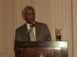 Salim Mansur speaks at launch party for Delectable Lie, Albany Club, Toronto, Ontario, Canada, Sept 2011