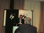 120421 Mark Vandermaas speaks at Freedom Party of Ontario 'Red Alert' dinner meeting