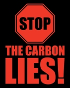 poster-Stop the Carbon Lies-STRUTT
